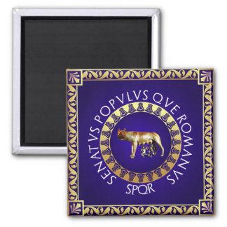 Capitoline Wolf Quadratischer Magnet