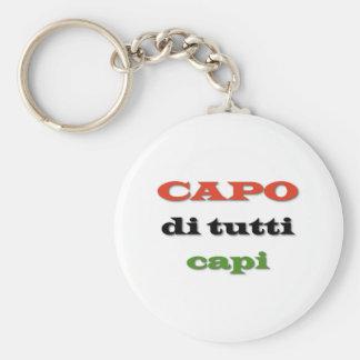 Capo/Chef Standard Runder Schlüsselanhänger