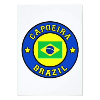 Capoeira 12,7 X 17,8 Cm Einladungskarte