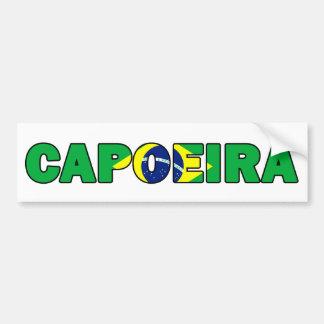 Capoeira Autoaufkleber