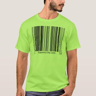 capoeira Barcode-T-Shirt Kampfkünste T-Shirt