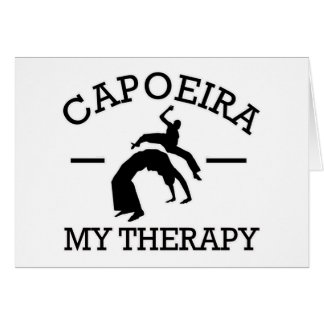 capoeira Entwurf Karte