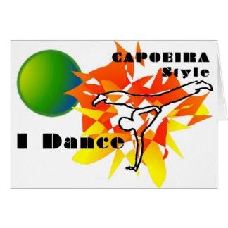 capoeira Geschenk-Mixed Martial Karte
