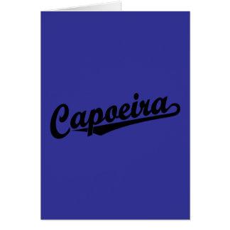 Capoeira im Schwarzen Karte