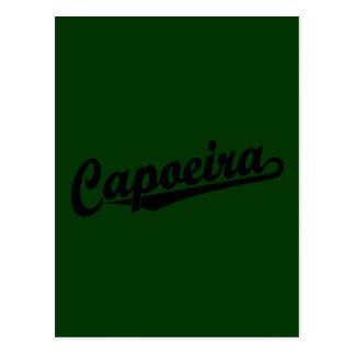 Capoeira im Schwarzen Postkarte