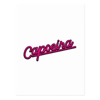 Capoeira in der Magenta Postkarte