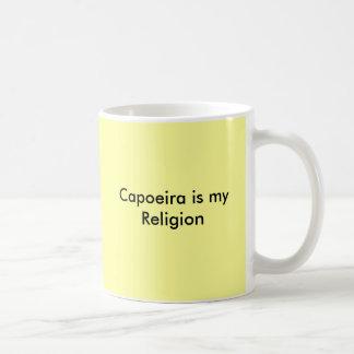 Capoeira ist meine Religion Kaffeetasse