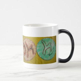 capoeira Kriegskunst-Tassenkaffee Verwandlungstasse