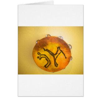 capoeira meine Liebekarten-Geburtstagsparabene Karte