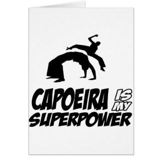 capoeira meine Supermacht Karte