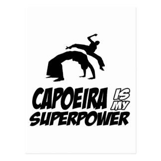 capoeira meine Supermacht Postkarte