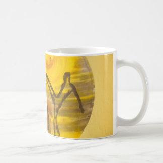 capoeira Musikleidenschaftsaxt-Tassenkaffee Kaffeetasse