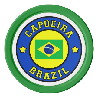 Capoeira Poker Chips