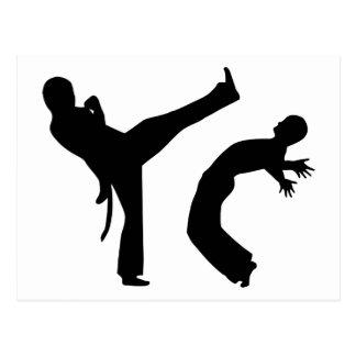 Capoeira Postkarte