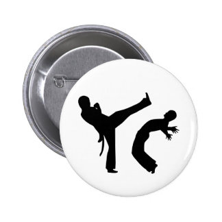 Capoeira Runder Button 5,1 Cm