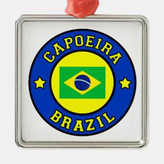 Capoeira Silbernes Ornament