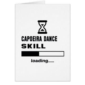 Capoeira Tanz-Fähigkeit Laden ...... Karte