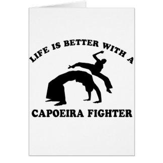 Capoeira vektorentwurf karte