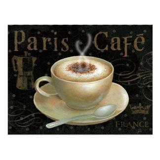 Cappuccino-Schale Postkarte