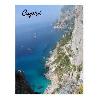 Capri, Italien Postkarte