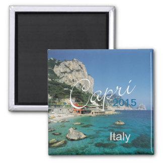 Capri Italien Quadratischer Magnet