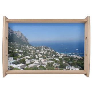 Capri, Italien Serviertablett