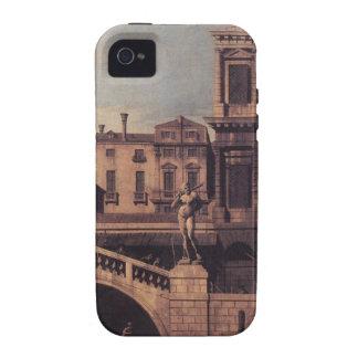 Capriccio: Das Ponte della Pescaria und Gebäude iPhone 4/4S Cover