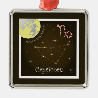 Capricorn December 22 to January 20 Ornament