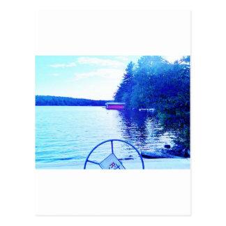 captian von Ihrem Schiff Postkarte