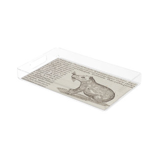 Capybara Acryl Tablett