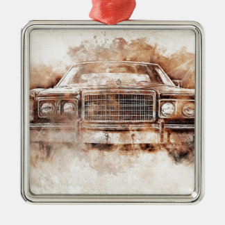 car-1640005_1920 quadratisches silberfarbenes ornament