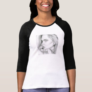 Cara Delevingne Top/Shirt/Longsleeve T-Shirt