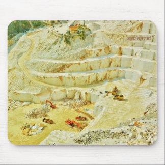 Cararra Marmorsteinbruch-große Anlagen, Traditonal Mousepad