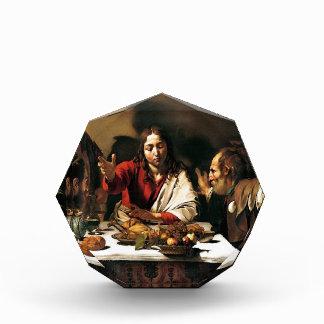 Caravaggio - Abendessen bei Emmaus - klassische Auszeichnung
