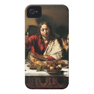 Caravaggio - Abendessen bei Emmaus - klassische Case-Mate iPhone 4 Hülle