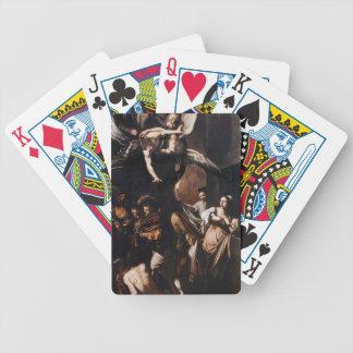Caravaggio - die sieben Arbeiten der Bicycle Spielkarten
