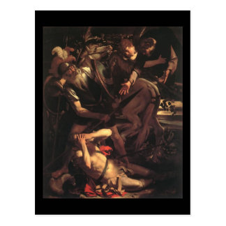 Caravaggio die Umwandlung von St Paul Postkarte