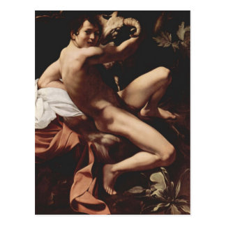 Caravaggio- Johannes der Täufer Postkarte