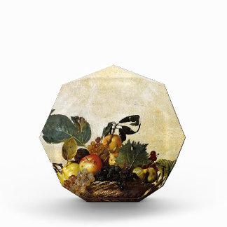 Caravaggio - Korb der Frucht - klassische Grafik Auszeichnung
