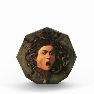Caravaggio - Medusa - klassische italienische Acryl Auszeichnung