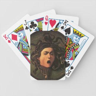 Caravaggio - Medusa - klassische italienische Bicycle Spielkarten