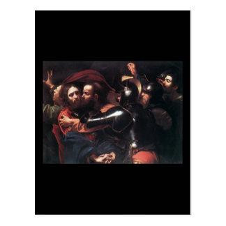 Caravaggio Nehmen von Christus Postkarte
