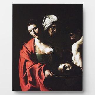 Caravaggio - Salome - klassische barocke Grafik Fotoplatte