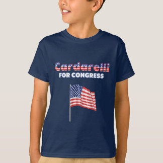 Cardarelli für Kongress-patriotische amerikanische T-Shirt