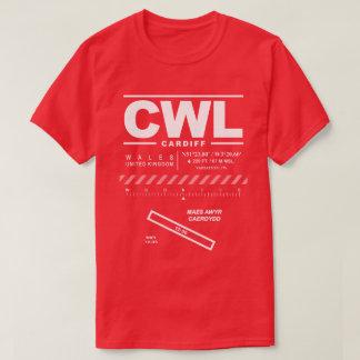 Cardiff-Flughafen CWL-T - Shirt