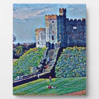 Cardiff-Schloss Fotoplatte