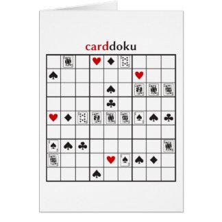 cardoku Spaten-Royal Flush Karte