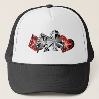 Cardz Poker-Hut Truckerkappe