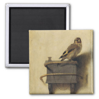 Carel Fabritius der Goldfinch Quadratischer Magnet