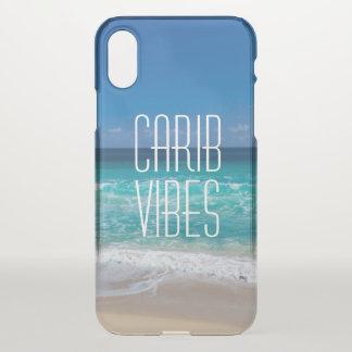 Carib-Schwingungens-tropisches iPhone X Hülle